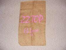 Zz Top El Loco Burlap Bag Music Store Advertising 1981 Album