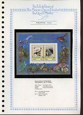 Nukufetau 1985 Queen Mother MNH Sheets Set On Page #V461