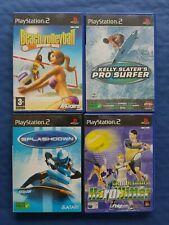 Sony PlayStation 2 PS2 Lot de 4 jeux sports complets