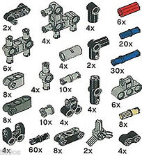 x218 Lego EV3 Parts Kit (rubber,connector,joint,peg,pin,mindstorms,axle,beam)