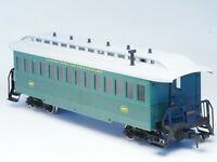 54731 Marklin Scale/gauge 1 ATSF Santa Fe Passenger car all in Metal for outdoor