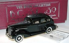 BROOKLIN BC 013x, 1936 Buick Special 4-Door Sedan m-41, Black, 1/43 limited 350