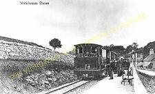 Waterhouses Railway Station Photo. North Staffs & Leek & Manifold Railways. (9)