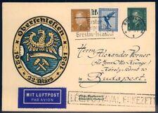 Flugpost für Sammler aus dem deutschen Reich als Ganzsachen