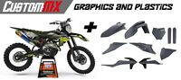 CustomMX - Graphics & Plastics Kit: To Fit KTM SX SXF models 2019-2020 EXC 2020