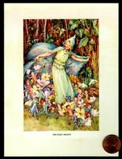 Fairies Pixie Marching Flowers - The Fairy Troupe - Blank Note Greeting Card
