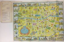 A NEW PLAN OF DUBLIN CITY 1968 Map Ireland Browne & Nolan