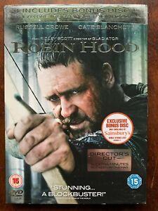 Robin Hood DVD 2010 Russell Crowe Movie Sainsbury's Exclusive 2-Disc Version