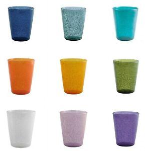 Set 6 Bicchieri da Acqua in Metacrilato Mod. Memento Synth design Emporio Zani