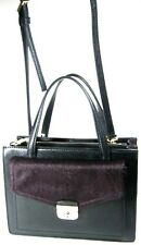 KATE SPADE Black Leather ZARINAH Hyde Place Small Satchel Shoulder Bag NWT $429
