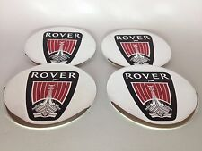 NEW 4pcs Decal Alu Stickers for Wheel Centre Cap Hubs for ROVER - 60mm