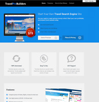 WordPress Travel Affiliate Website! Potential Earnings of $2250+ per Month!