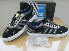 ADIDAS ADI-EASE LIMITED EDITION MENS BLACK SUEDE TRAINERS SNEAKERS SIZE 11 EU 46
