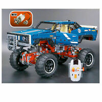 Technic 41999 4X4 telecomando CRAWLER ELETTRICO OFF-ROAD Lego Compatibile