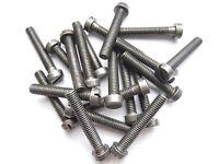 10 Zylinderschrauben Schlitz M 5x35 DIN 84 Stahl 4.8 blank Zylinderkopf M5