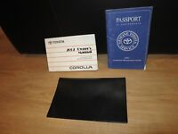 2002 Toyota COROLLA OWNERS MANUAL BOOK SET + CASE +  ALL MODELS & TRIMS
