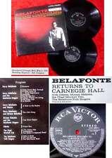 2lp Harry Belafonte returns to Carnegie Hall