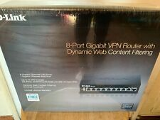 D-Link 8-Port Gigabit VPN Router with Dynamic Web Content Filtering