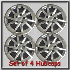"Toyota Prius V 16"" Hubcaps, Replica 2015-2016 Hyper Silver Wheel Covers Set 4"