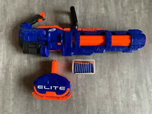 Nerf N-Strike Elite Titan CS-50, Nerf Gun, blau, 80 Darts