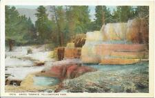 Postcard - Angel Terrace - Yellowstone. Unposted. J E Haynes