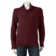 NEW $85 MENS MARC ANTHONY DARK BRICK TEXTURED SWEATER SIZE XXLARGE