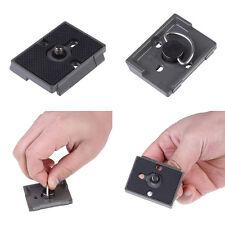 1x Schnellwechselplatte Kamera-Stativ 1.5x2 Mount Für Manfrotto 200PL-14 484RC2