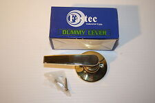 FASTEC DL-808-PB DUMMY LEVER POLISHED BRASS RIGHT AND LEFT HAND SWING NIB