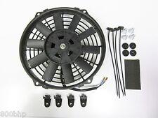 """9 """" / 22 Cm Universal radiador eléctrico ventilador de enfriamiento con Kit de montaje (delgado)"""
