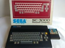 SC-3000 Personal Computer Console System SEGA Boxed and Game set /tested-A-