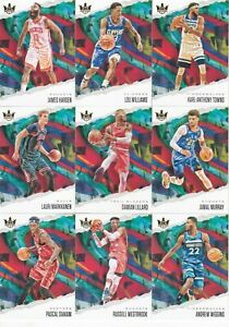 2019-20 NBA COURT KINGS - Base Cards -  - CHOOSE YOUR CARD, Complete Your Set