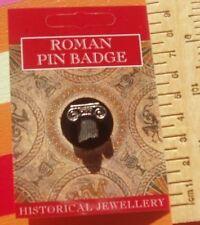 Roman Lapel Badge Greek Architecture Archeology History Teacher Student Guide bn