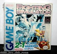 FIGHTING SIMULATOR 2 IN 1 FLYING WARRIORS NUOVO GAMEBOY ED AMERICANA FR1 32108