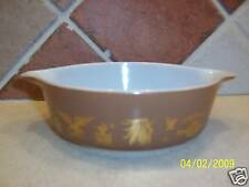 Pyrex Early American Cinderella Oven Casserole Dish 1pt