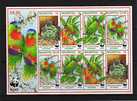NIUAFO'OU 1998 ENDANGERED SPECIES MS 274 MNH.