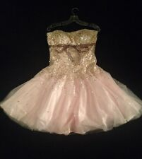 Light Pink Dress, Size 12, Knee Length