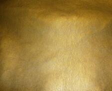 "Vinyl faux leather Gold Metallic Ford  Car Sofa Vinyl fabric yard 54"" Upholstery"