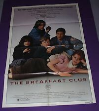 THE BREAKFAST CLUB MOVIE POSTER ORIGINAL ONE SHEET