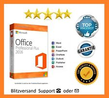 Microsoft Office Professional Plus Pro 2016  ✔ TOP SUPPORT Tele/ Ma✔ 1A Ware  ✔✔