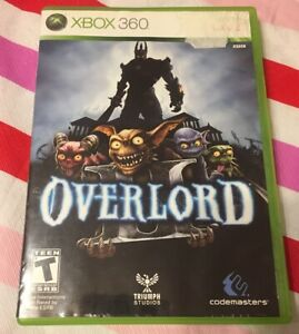 Xbox 360 : Overlord 2 Game Case and Disc Only