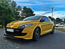schwarze Cup Spoilerlippe für Renault Megane 3 RS Lippe Spoiler Diffusor Front