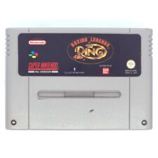 Boxing Legends of the Ring Super Nintendo Game USED