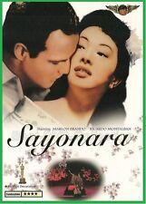 Sayonara (1957) - Marlon Brando, Patricia Owens - DVD NEW -E
