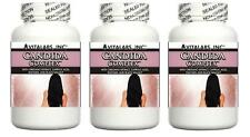 3 Candida Support Pills Thrush Yeast Vaginal Odor Smell Discharge Cleanser Detox