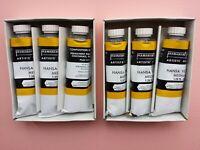 Permanent Pigments Oil Paint Lot 6 Tubes *****
