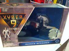 BNIB XYBER 9 - Ikira Dawn Speeder And Figure