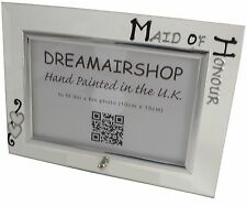 Maid of Honour Land Frame Blk/Sil