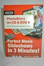 Magix PhotoStory CD/DVD 9 Computer Software Create Kit Windows XP/Vista/7- New-