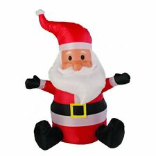 Christmas Inflatable Light Up Santa Claus Indoor & Outdoor Decoration