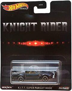 Hot Wheels Retro Entertainment Knight Rider K.I.T.T Super Pursuit Mode